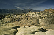 Panamint Valley Photos - Eroded Hills At Zabriskie Point Sprawl by Gordon Wiltsie