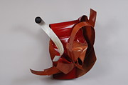Vivid Sculpture Prints - Erotic Swells Print by Mac Worthington