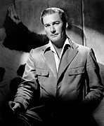 Colbw Framed Prints - Errol Flynn, 111943 Framed Print by Everett