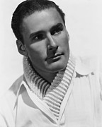 Errol Framed Prints - Errol Flynn, 1936 Framed Print by Everett