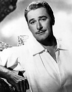 Errol Posters - Errol Flynn, Warner Brothers, 1940s Poster by Everett