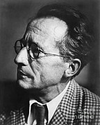 Equation Photos - Erwin Schrodinger, Austrian Physicist by Omikron