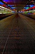 Airport Architecture Prints - Escalator view ... Print by Juergen Weiss