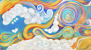 Clouds Acrylic Prints - Escape by Samantha Lockwood