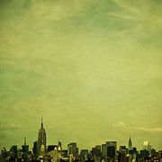 Empire State Building Framed Prints - Escaping Urbania Framed Print by Andrew Paranavitana