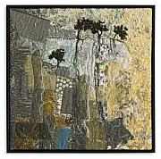Rock Tapestries - Textiles Originals - Escarpment 16 by Lorraine Roy