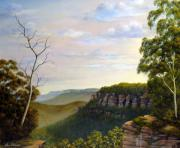 Landscapes Reliefs - Escarpments Edge by John Cocoris