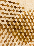 Wood Art - Escher-esque Basketweave by Hakon Soreide