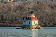 Esopus Meadows Lighthouse I Print by Clarence Holmes