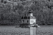 Register Framed Prints - Esopus Meadows Lighthouse II Framed Print by Clarence Holmes