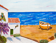 Casa Painting Originals - Espana con Alegria by Damaris Munoz Arias