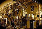 Florida House Photos - Espanola Way Miami South Beach by Monique Wegmueller