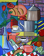 Art Giclee Prints Posters - Espresso Poster by Anthony Falbo
