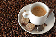 Backdrop Photos - Espresso Coffee by Carlos Caetano
