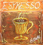Lee Halbrook Metal Prints - Espresso Metal Print by Lee Halbrook