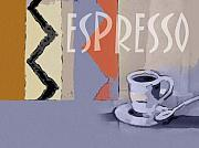 Java Paintings - Espresso Poster by Lutz Baar
