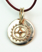Tucson Arizona Jewelry Originals - Esprit Del Sol Charm by Virginia Vivier