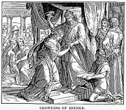 Xerxes Prints - Esther & Ahasuerus Print by Granger