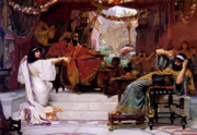 Esther Denouncing Haman Print by Ernest Normand