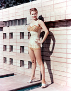 Esther Prints - Esther Williams Print by Everett