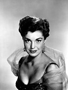 Earrings Photo Posters - Esther Williams Portrait, 1953 Poster by Everett