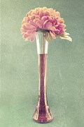 Flower Still Life Photo Posters - Estillo Vase - s01t04 Poster by Variance Collections
