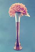 Flower Still Life Photo Posters - Estillo vase - s01v3f Poster by Variance Collections