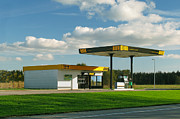 Fueling Posters - Estonian Gas Station Poster by Jaak Nilson