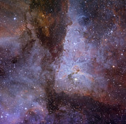 Starfield Framed Prints - Eta Carinae Nebula Framed Print by Ken Crawford