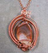 Lake Jewelry - Eternal Flame Pendant by Heather Jordan