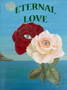 Special Occasion Painting Posters - Eternal Love Poster by Eric Kempson