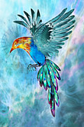 Fly Digital Art Prints - Eternal Spirit Print by John Edwards