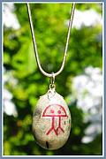 Charm Necklace Jewelry - ETERNITY holistic Indalo necklace by Melanie Bourne