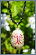 Hand Crafted Originals - ETERNITY holistic Indalo pendant by Melanie Bourne