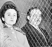 Cold War Framed Prints - Ethel And Julius Rosenberg, Separated Framed Print by Everett