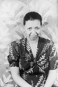 Jazz Singers Prints - Ethel Waters 1896-1977, African Print by Everett