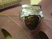 Ring Jewelry - Etheopean Opal Dream by Kathy St Martin