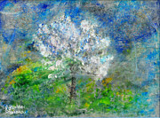 Universe - Ethereal Almond Tree by Augusta Stylianou