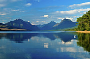 Glacier National Park Prints - Ethereal McDonald Print by Greg Norrell