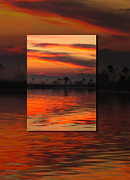 Judee Stalmack Framed Prints - Ethereal Sunrise in Sunrise Framed Print by Judee Stalmack