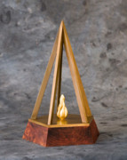 Featured Sculptures - Ethics in Business Award by John Gibbs