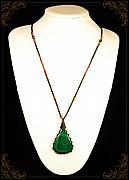 Malachite Jewelry - Ethnic Malachite by Katarzyna Horwat