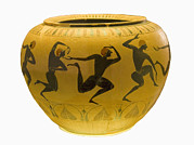 Art Of Dancers Prints - Etruscan Vase, 6th Century Bc Print by Sheila Terry