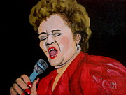 Rock And Roll Painting Originals - Etta by Pete Maier