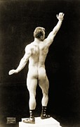 Sports Male Posters - Eugen Sandow 1867-1925, Father Poster by Everett