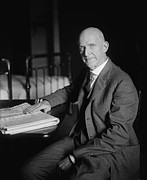 Socialists Framed Prints - Eugene Debs 1855-1926, Was Imprisoned Framed Print by Everett