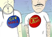 News Mixed Media - EUR broke and China cheats by OptionsClick BlogArt