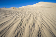 Inhospitable Prints - Eureka Sand Dunes with rippled sand Print by Ed Book