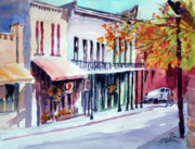 Store Fronts Framed Prints - Eureka Springs AK 1 Framed Print by Ron Stephens
