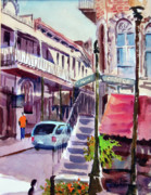 Store Fronts Prints - Eureka Springs AK 2 Print by Ron Stephens